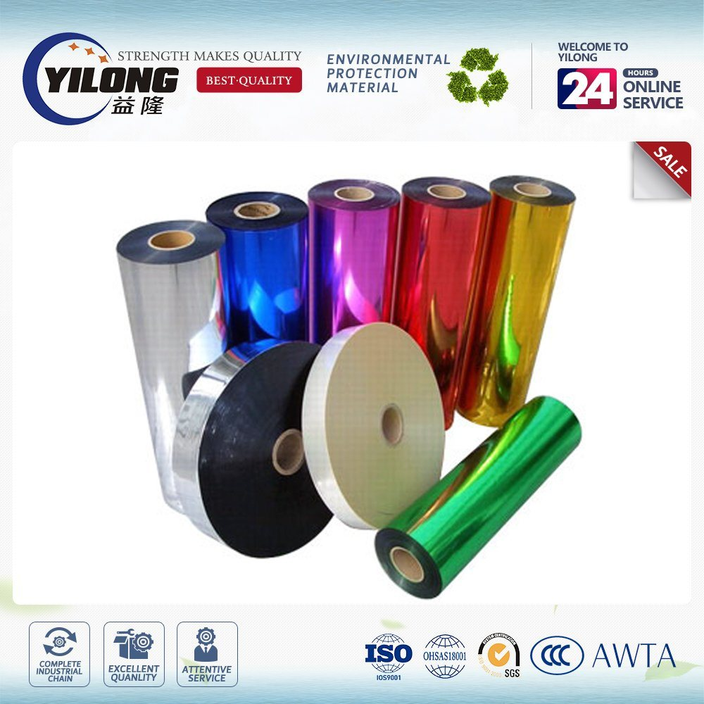Multi Layer Silver Laminating Metallized Pet Film