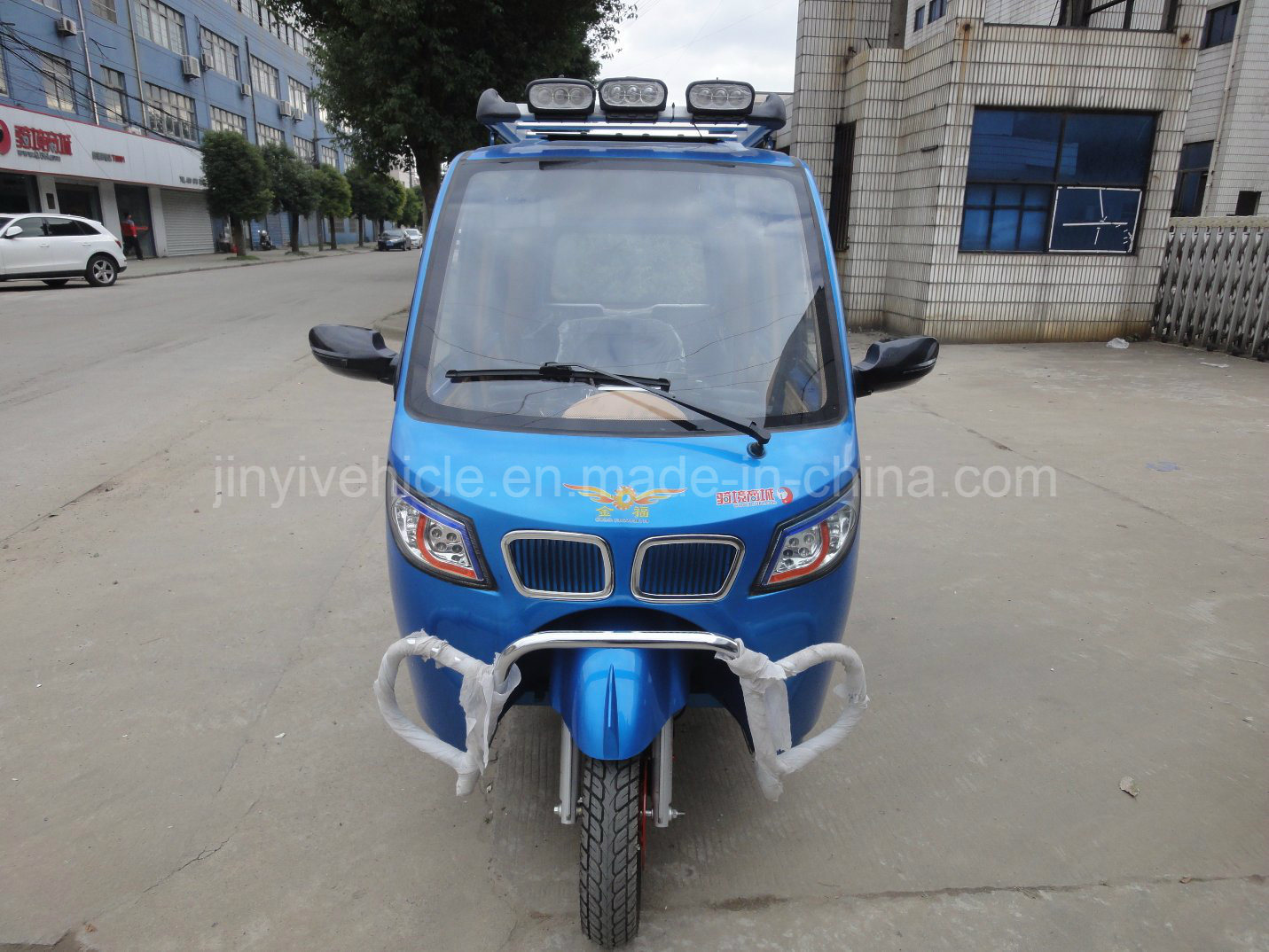 125cc 150cc Passenger Tricycle with Skylight