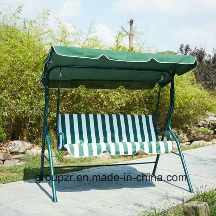 Outdoor 3 Seats Garden Swing Chair
