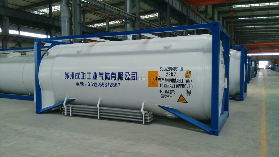 Cryogenic Tank Container for Lar, Lio, Lin, LNG