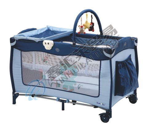 En716 Approved Portable Baby Playpen/ Baby Travel Cot