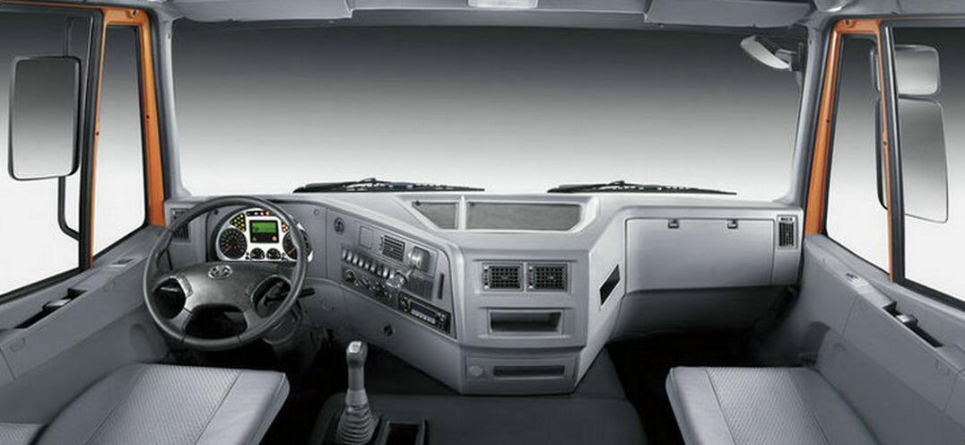 Genlyon 6X4 380HP Dumper Truck