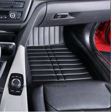 Car Mats 3D Embroidery Synthetic Leatherette XPE Carpet