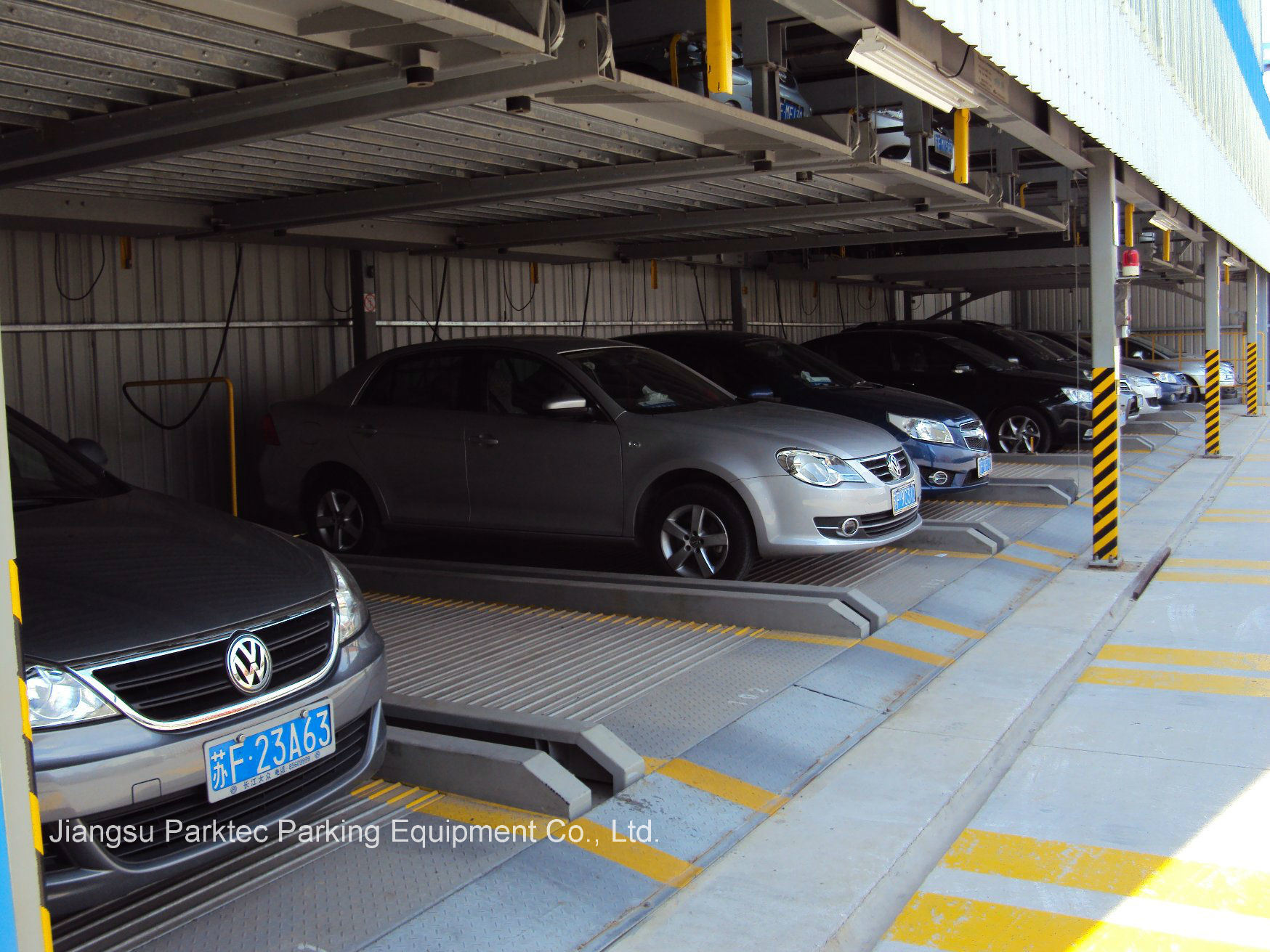 Easy Lifting Mechanical Parking System