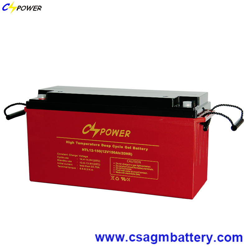 Long Life 20years 12V200ah Deep Cycle Gel Battery for Hot Area 40degree