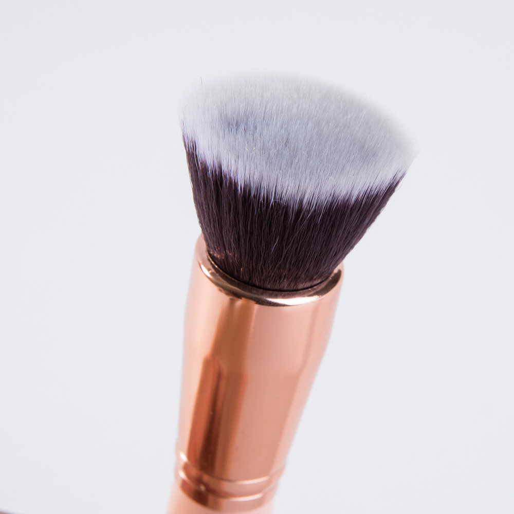 8PCS Private Label Makeup Brush with Luxury Leather Bag