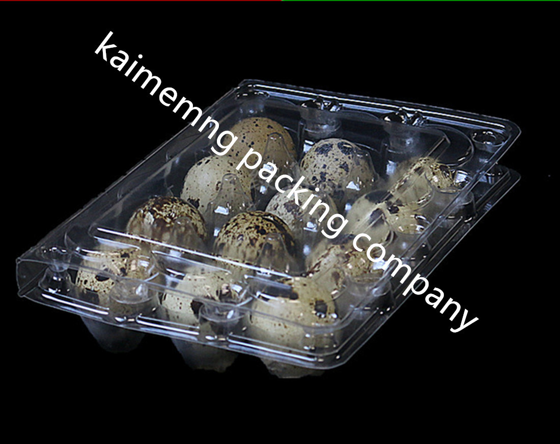 30cells Eggs Clear Plastic Quail Egg Trays (plastic quail egg tray)