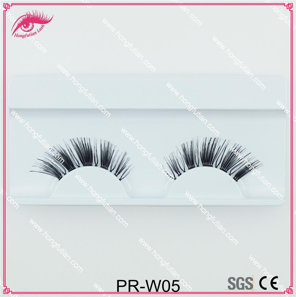 Handmade Human Hair Eyelash Fake Eyelashes Wholesale Supplier
