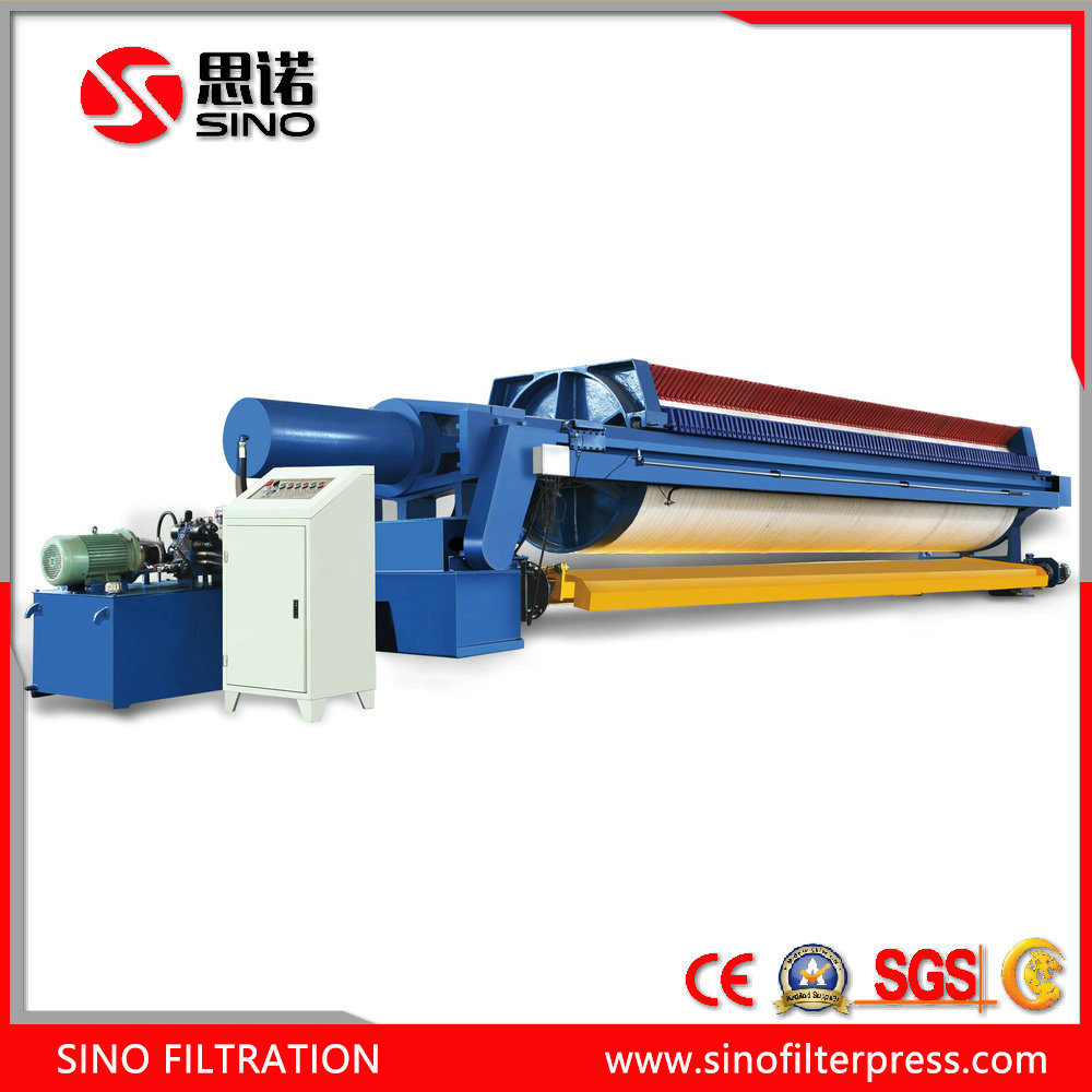 Advanced Auto Filter Press for Ceramics Factory