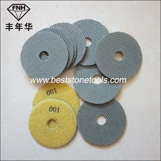 ED-1 Electroplating Diamond Bond Sanding Pad
