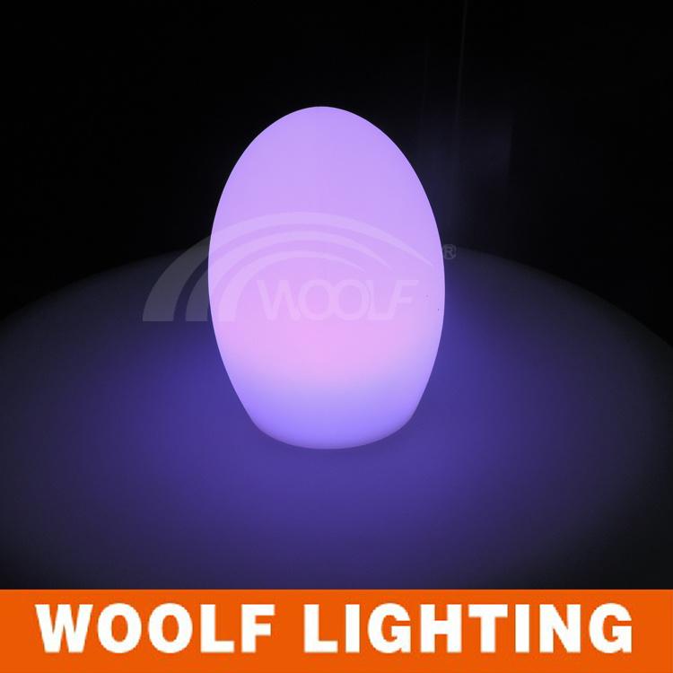 LED Dressing Egg Shape Table Top Lights