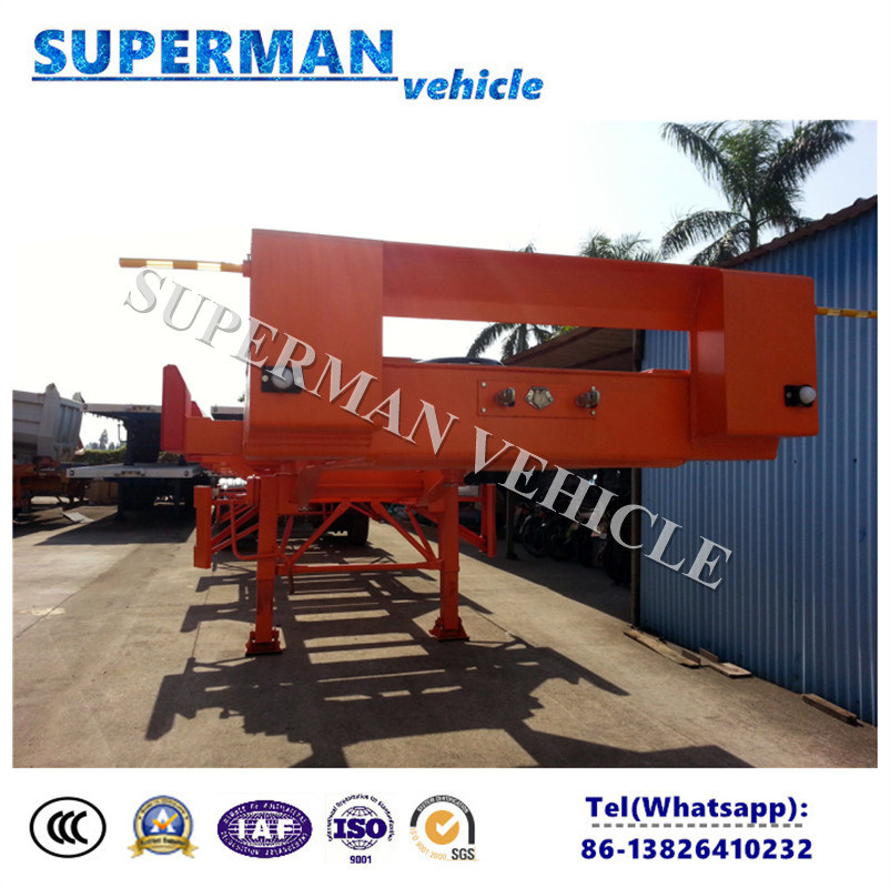 40FT Heavy Duty Container Terminal Port Transport Semi Trailer