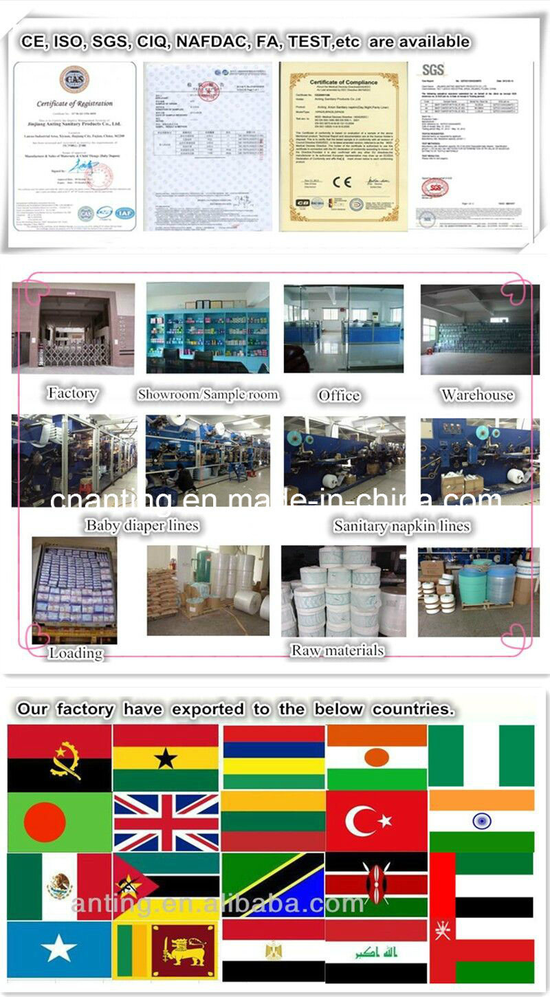 Wave Anion Sanitary Napkin, Anion Care Pads, Lady Products,