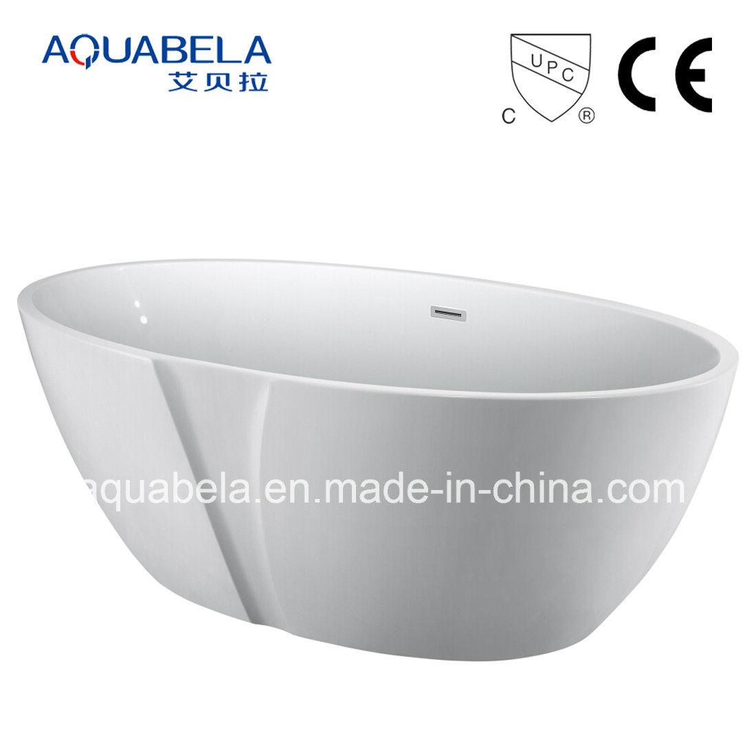 CE/Cupc New Design Acrylic Seamless Bathroom Tub Jacuzzi Bathtub (JL654)