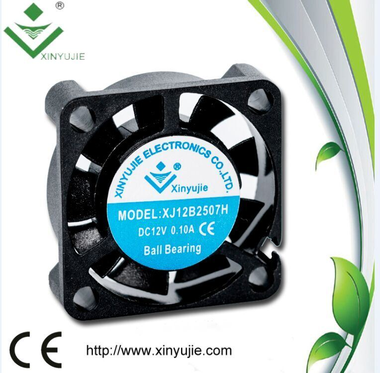 25*25*07mm 12V Mini Micro DC Brushless Cooling Fan