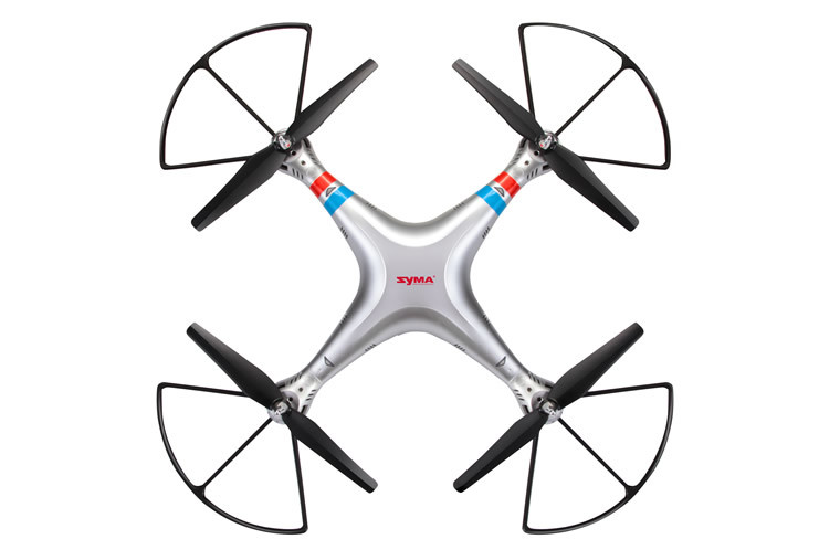 0738g 2.4G 4CH 6-Axis Gyro Headless Mode 8MP HD Camera 3D Roll RC Quadcopter Drone UFO