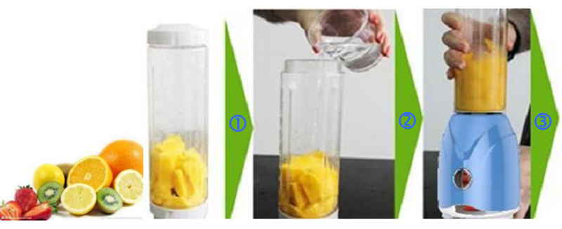 Shake and Take Juicer Blender