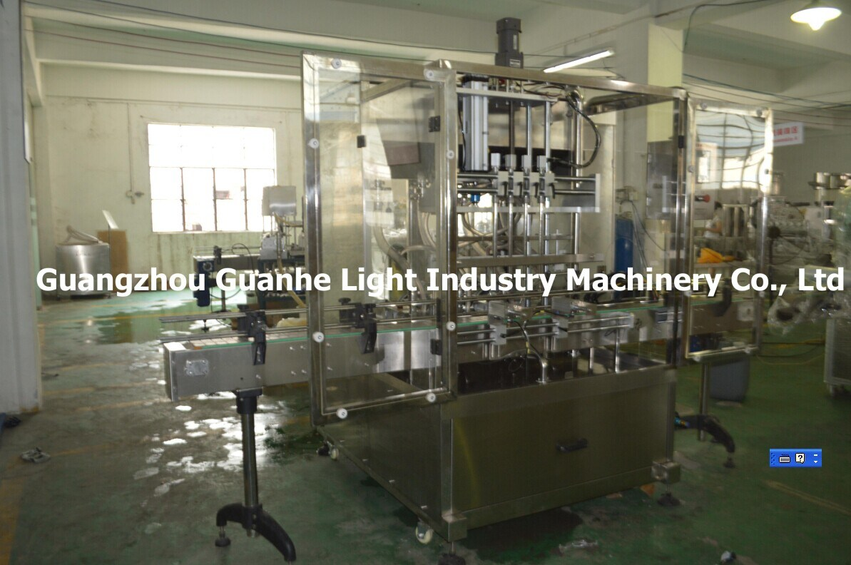 Automatic Jam Filling Production Line with Capping & Sealing