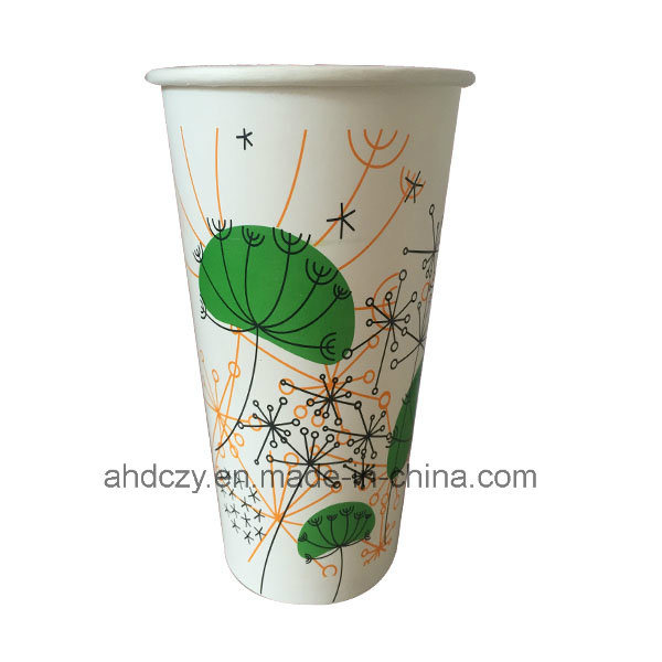 Wholesale Flexo Printing 12oz Paper Cup Industry