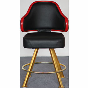 New Models Synthetic Leather Casino Chairs with Yellow Legs (FS-G113B)