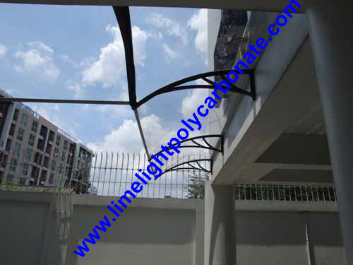 polycarbonate canopy door window awning 1