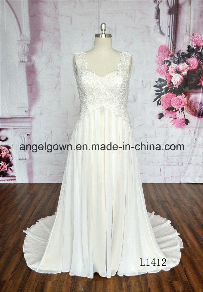 Grace Chiffon Bridal Dresses Ivory