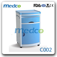 High Quality ABS Plastic Hospital Bedside Cabinet