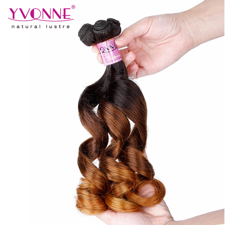 New Arrival Ombre Fumi Hair 100% Human Hair Weaving