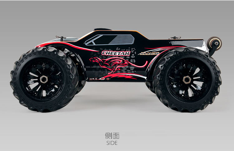 11101 (RTR) 1/10 Scale 2.4G 4WD Electric Powered RC Car Monster Truck RTR
