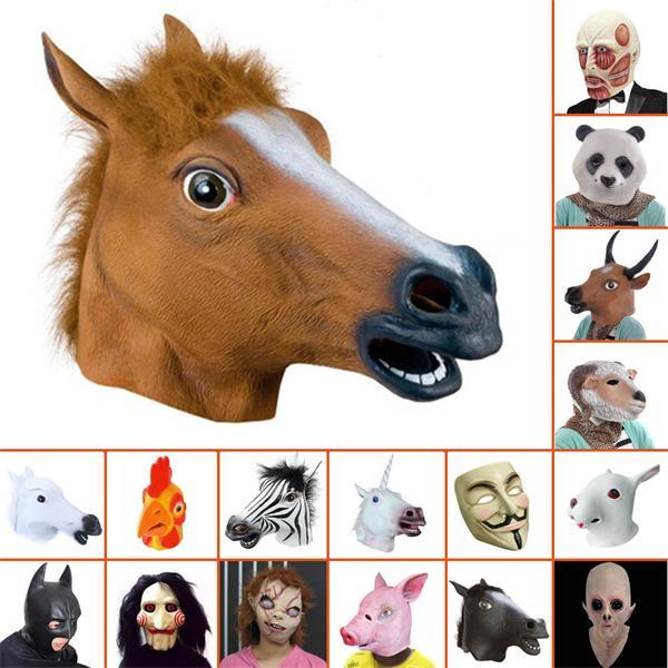 Carnival Mask, Party Mask, Halloween Mask, Animal Mask