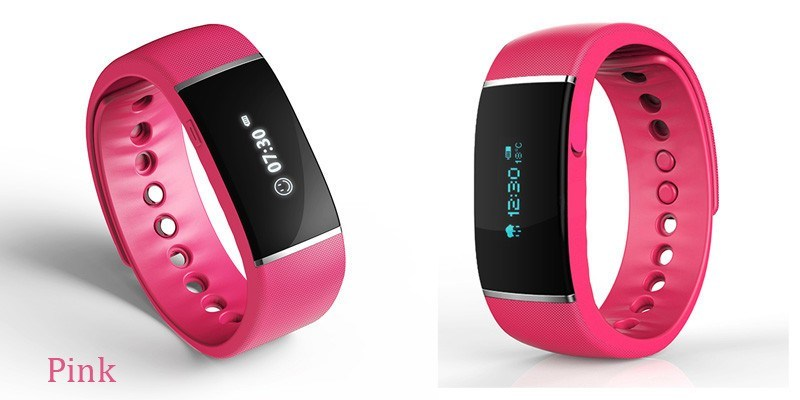 Smart Sport Wristband, Smart Bracelet E06 Bluetooth with OLED Touch Screen Waterproof IP67 Bluetooth Vibrating