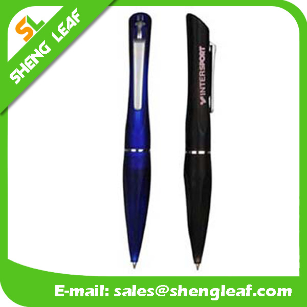 Popular Design Table Ballpoint Pen with Line (SLF-TP006)