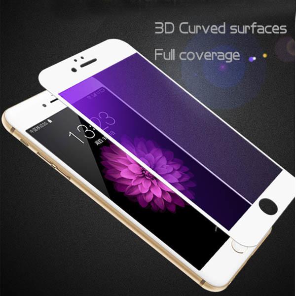 3D Carved Carbon Fiber Film for iPhone 6/6s