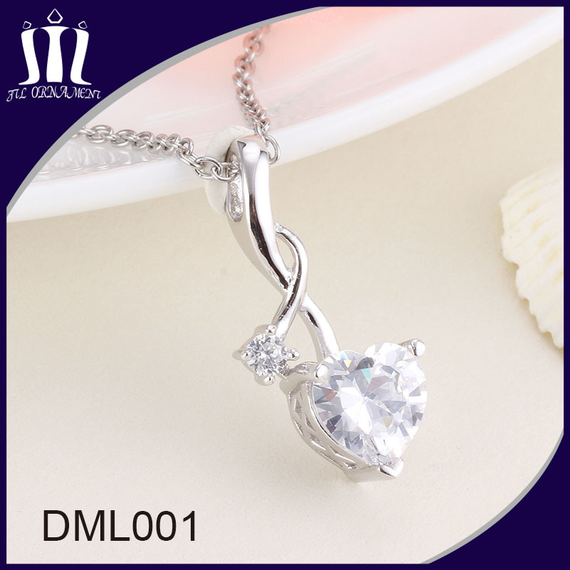 Fancy Custom Jewelry Pendant Designs for Girls