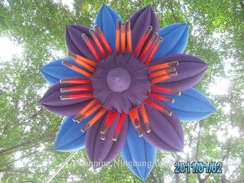 Hot Sale LED Lighting Inflatable Flower for Wedding Decoration