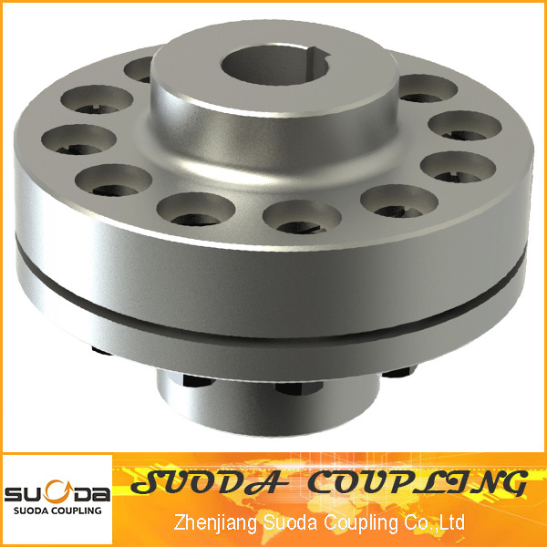 Easy Maintenance Pin Coupling with Elastic Sleeve