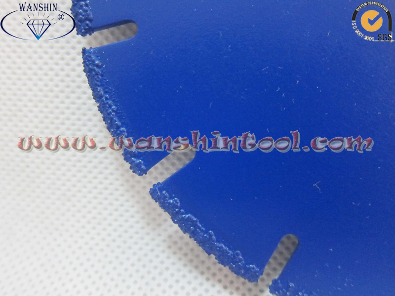 Vacuum Brazed Diamond Saw Blade for Metal Diamond Tool