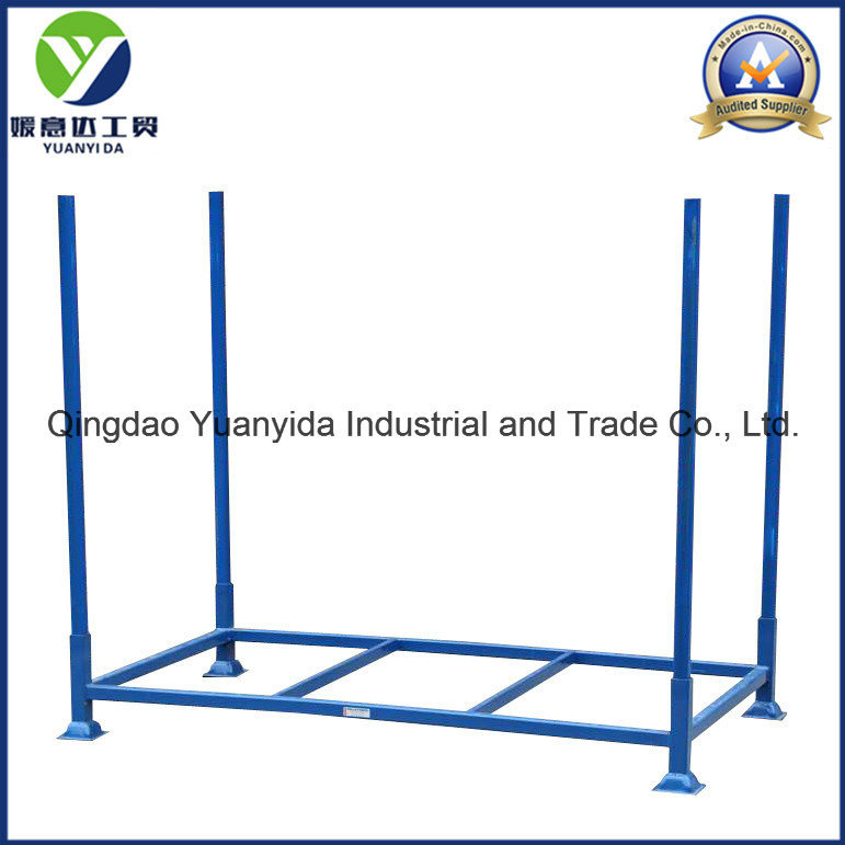 Hot Sale Powder Coating Stackable Pallet Rack/Steel Pallets