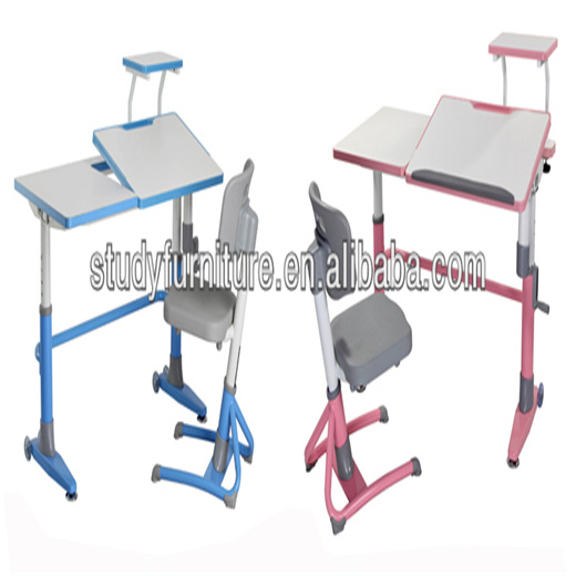 Hot Sale Metal Height Adjustable Desk Kids Furniture