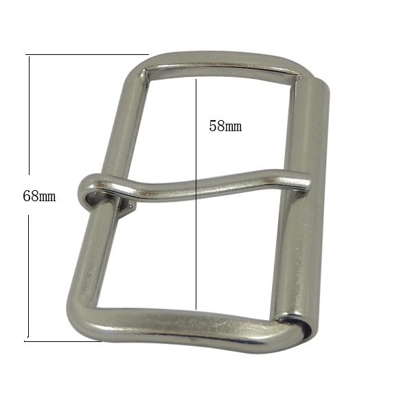 Metal Silver Custom Pin Metal Buckle