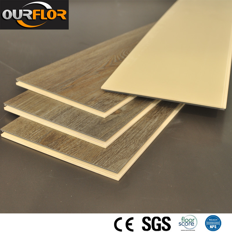 2015 New Soundproof WPC Vinyl Flooring Tiles