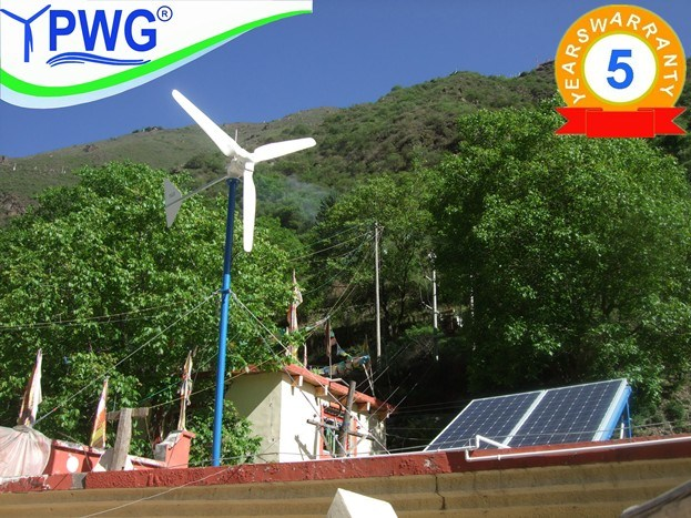 3kw Wind Solar Hybrid Power System for Home Use