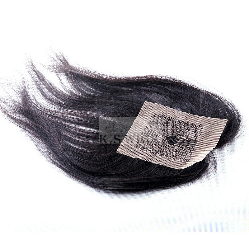 K. S Wigs Factory Price 100% Brazilian Lace Closure