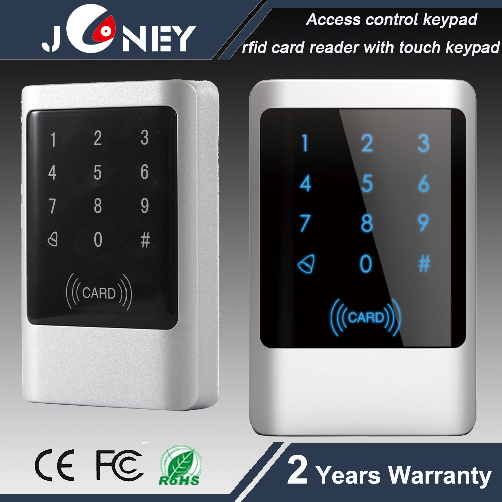 Waterproof 125kHz RFID Em Card Reader Keypad Access Control