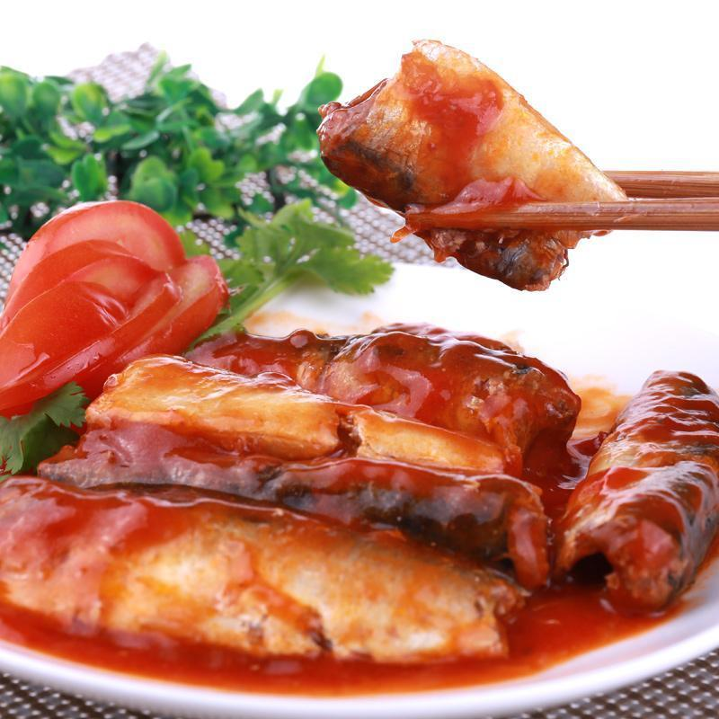 Good Quality 155g Canned Sardine Fish in Tomato Sauce