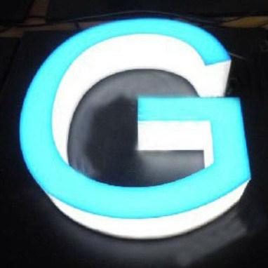 Full Lit Acrylic LED Channel Letter for Billboard Sign