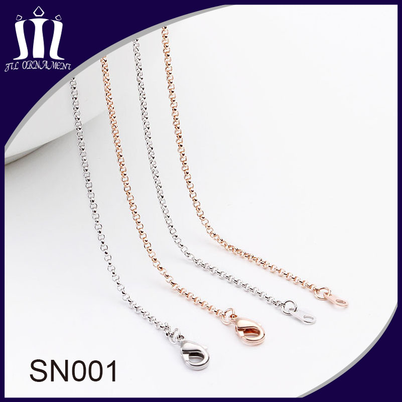 Sn001 Eco Friendly Brass Chain for Jewelry Necklace