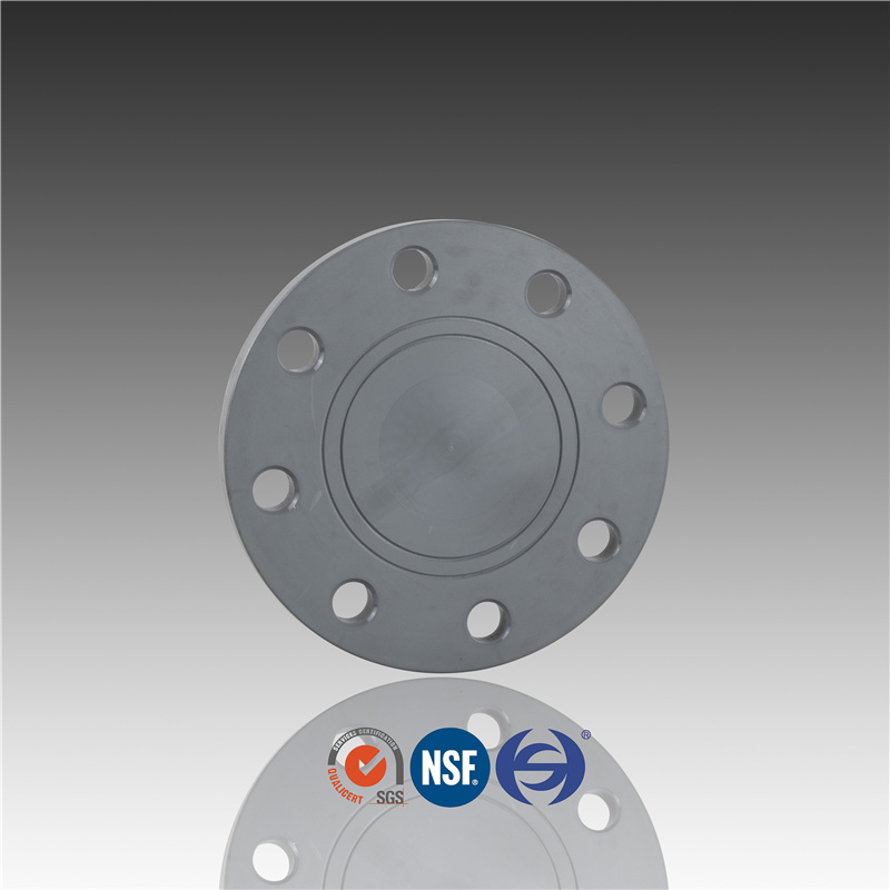 China Manufacturers Produce CPVC Plastic Blind Flange