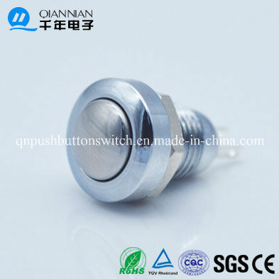 8mm Momentary Mini Waterproof Domed Head Push Button Switch
