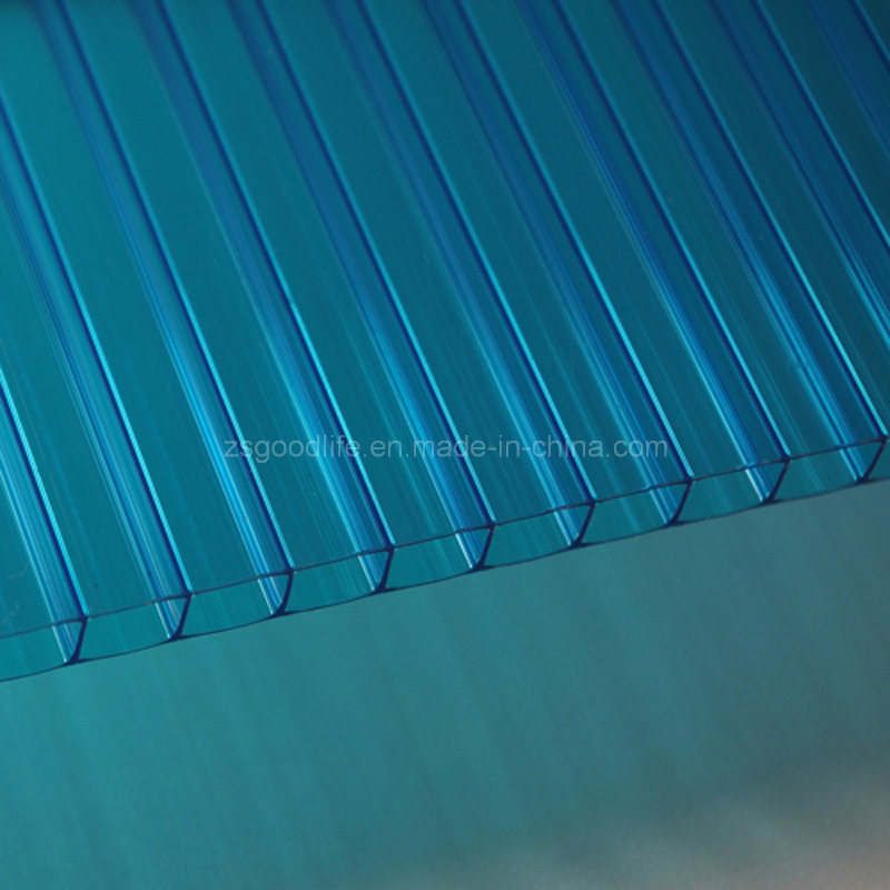 Anti-Static Policarbonate Polycarbonate Plastic Sun Panel for Home and Hotel